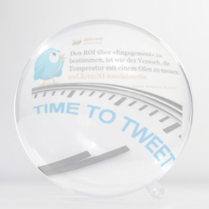 Social Media Networks Twitter Marketing Time