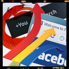 »Social Sharing«: Kann Google+ Facebook doch überholen?