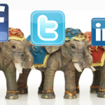 Social Media: The  »Big Four«  +Two im Vergleich