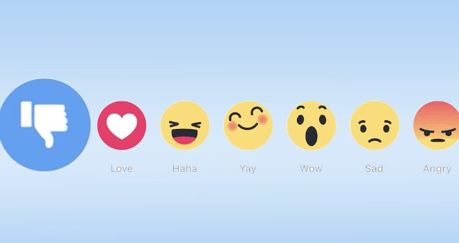 Quintly-Studie Facebook Reactions